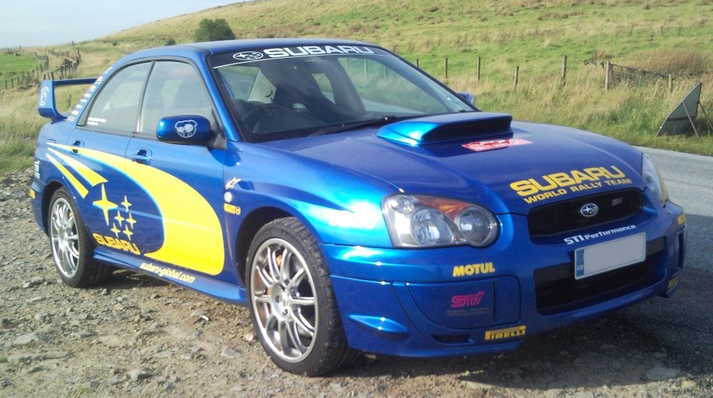 Impreza Full Rally Kit