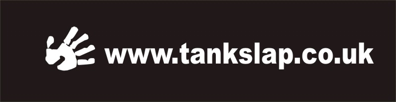 Tankslap url Decal with hand
